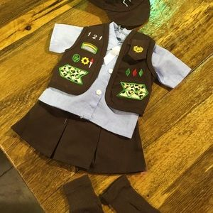Accessories - Brownie scout outfit